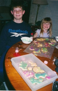 Shawn and Kelsey cookies