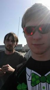 Patrick and Cody sunbeam