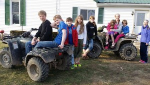 kids of 4 wheelers