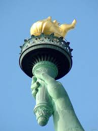 liberty's torch
